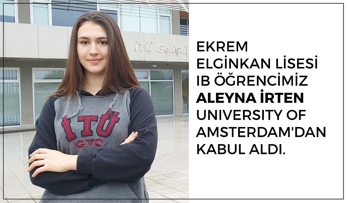 Aleyna İrten University of Amsterdam Kabul